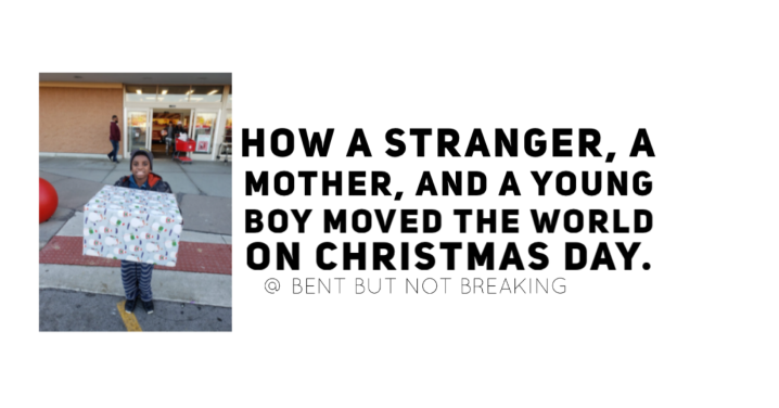 How a stranger, a mother, and a young boy moved the world on ChristmasDay.