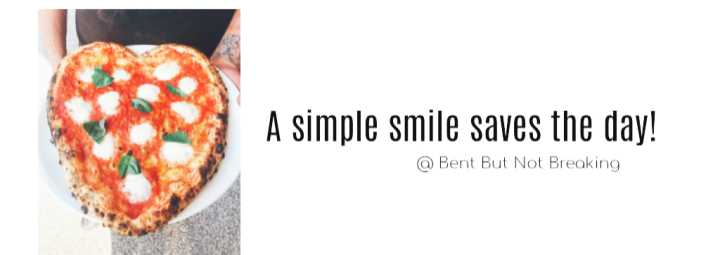 A simple smile saves the day!